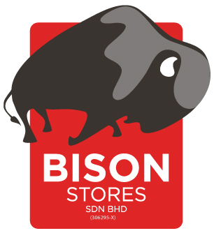 Revamped Bison Stores logo