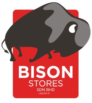 Revamped Bison Stores logo