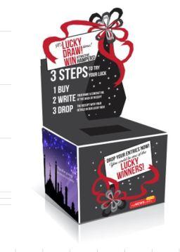 myNEWS.com Lucky Draw Box